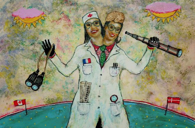 illustration pour le monde science et médecine (journal le monde daté du 10/12/2014)
