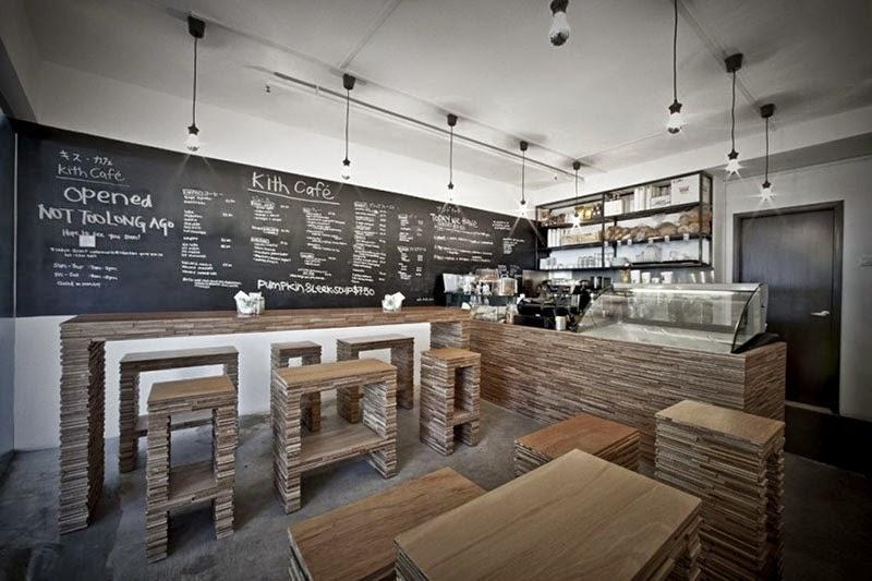 El Diseno Casa Kith Cafe Diseno De Interiores Por Hjgher - Diseo-cafeterias-modernas