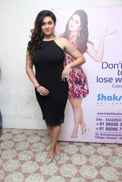 Actress Namitha Hot Photoshoot Stills For Shakshii Wellness Spa