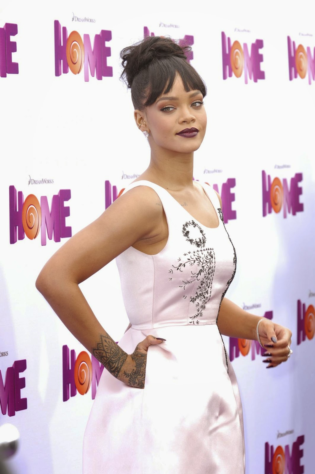 Singer, Actress, Fashion Designer @ Rihanna At Home Premiere In Westwood