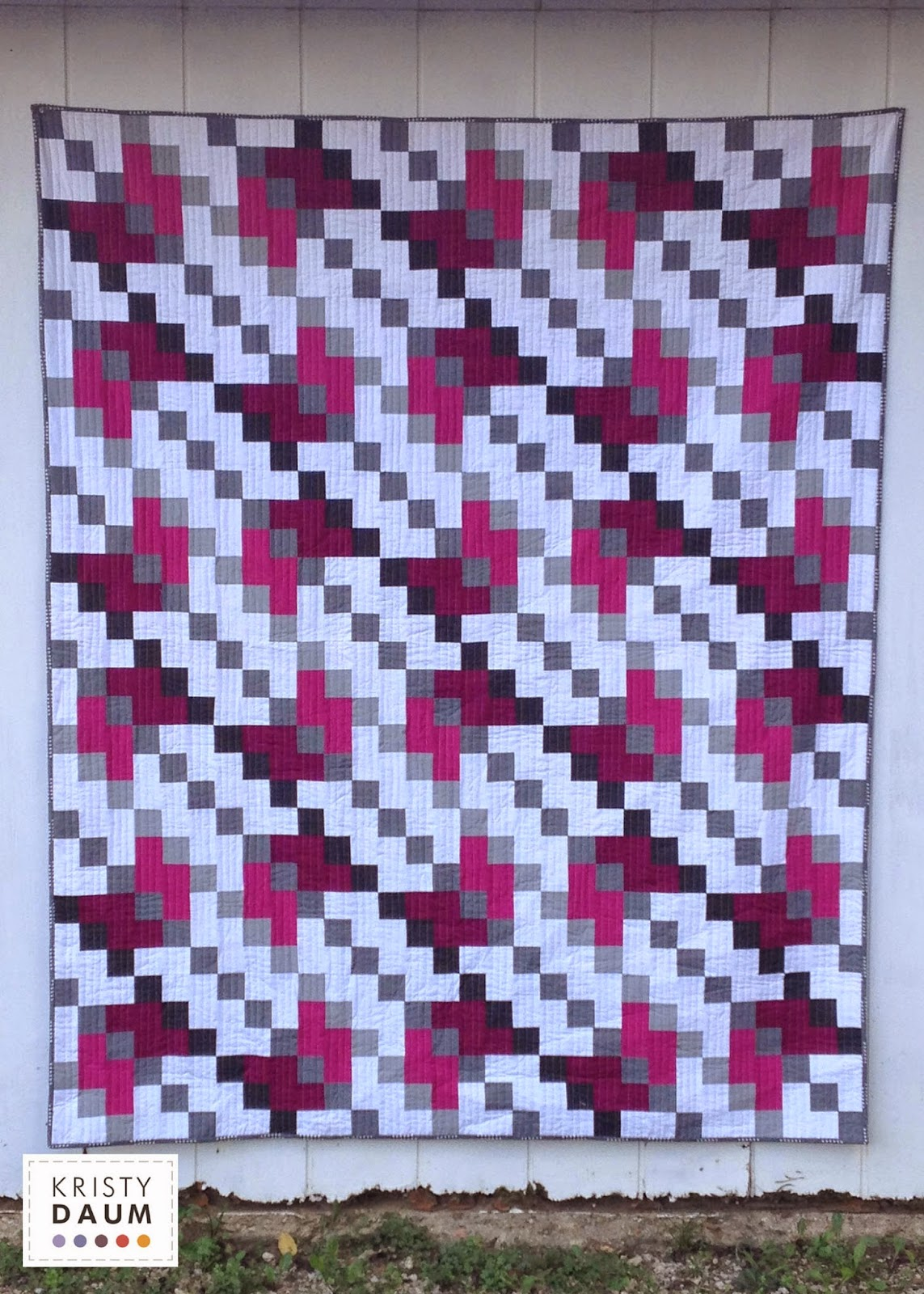 SHIFTED Quilt by Kristy Daum
