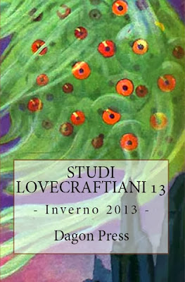 Studi Lovecraftiani n. 13 copertina Amazon