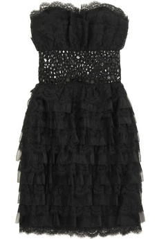marchesa black dress