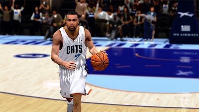 NBA 2K13 Ramon Sessions Cyberface NBA2K Patch