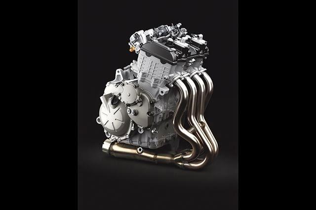 kawasaki zx6r, 636, 4 cylinder motorcycle engine