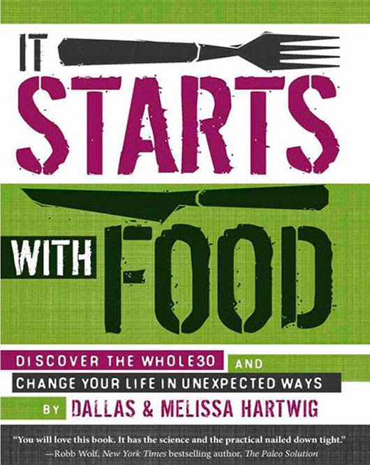 BOOK of WEEK - IT STARTS WITH FOOD