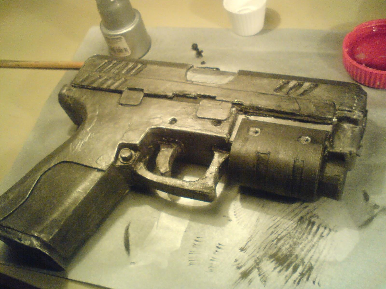 Pistola Blacktail - Resident Evil DSC04494