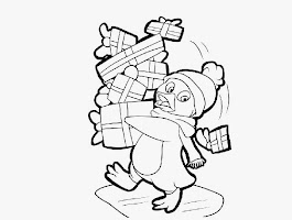 Baboon Monkey Coloring Page