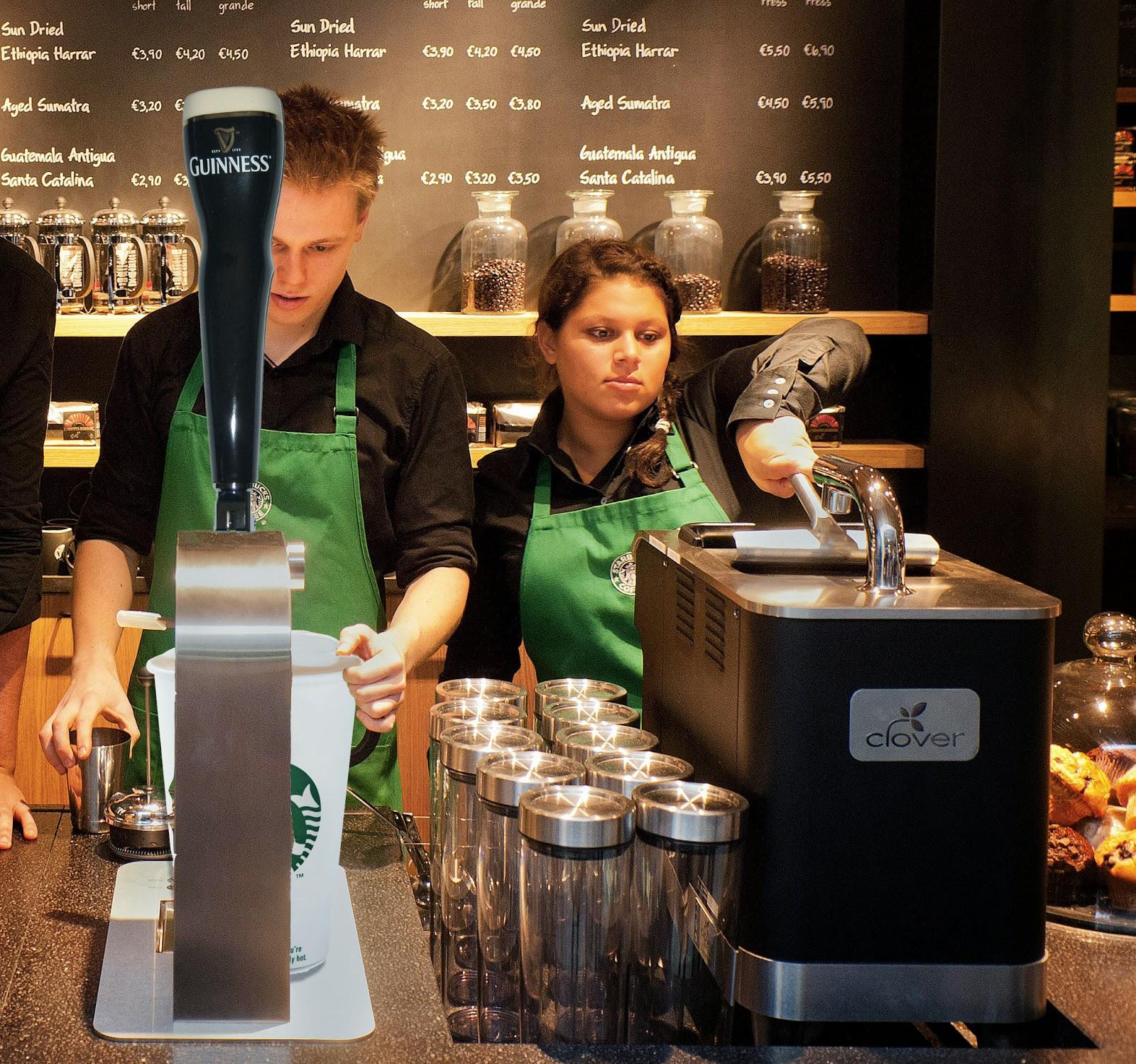 Starbucks Is Testing Guinness
