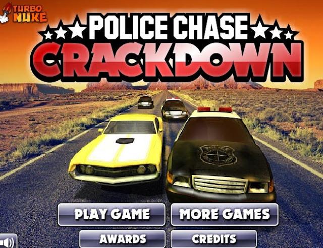 Игра: Горячая полицейская погоня