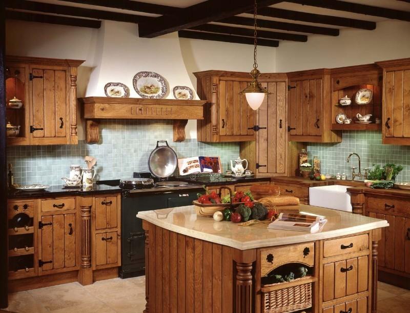 country kitchen Tipos de Projeto da cozinha