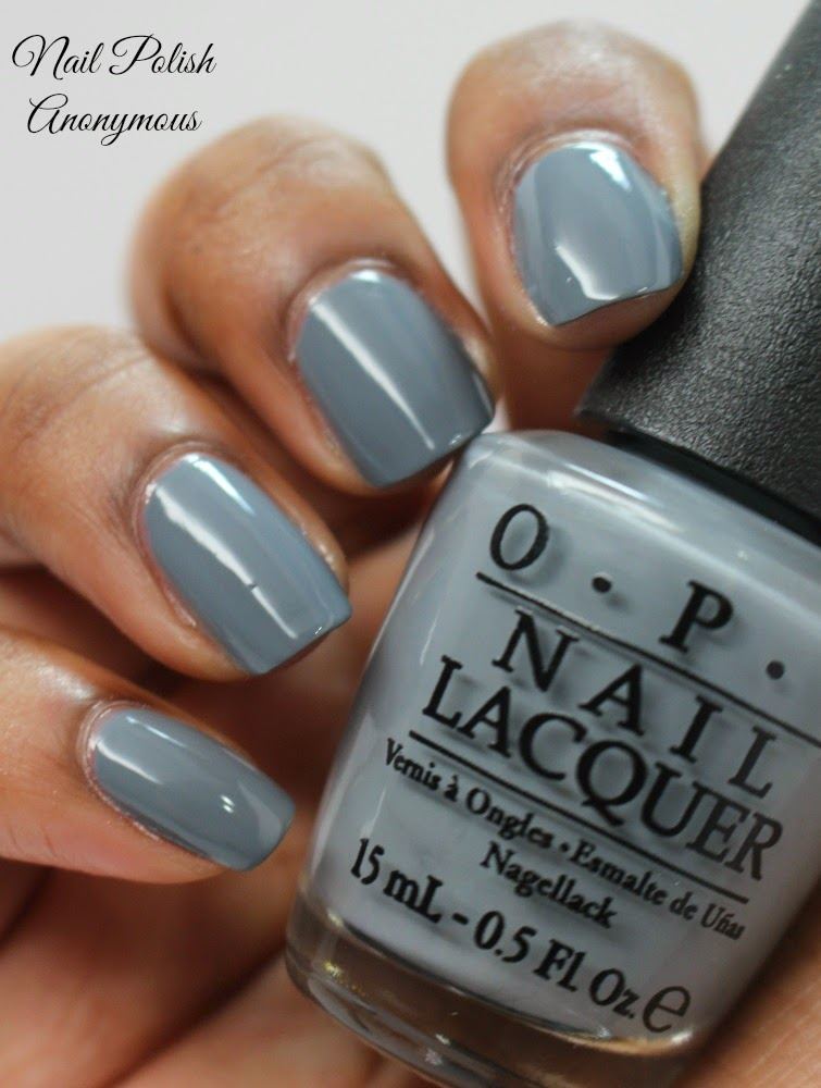 Nail Polish Anonymous: Opi\'s 50 Shades of Grey Review and Swatches