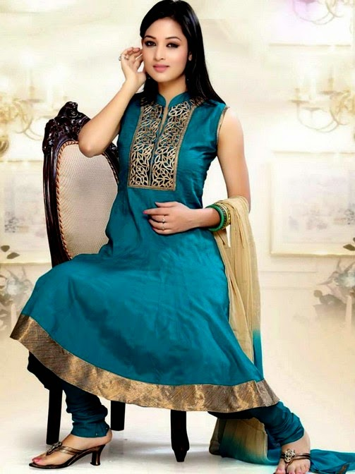 Salwar Suit Design Catalogue Suits Neck Designs 2014 For Wedding Photos Pics