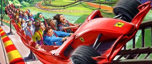 Sept nouvelles attractions pour Ferrari World à Abu Dhabi