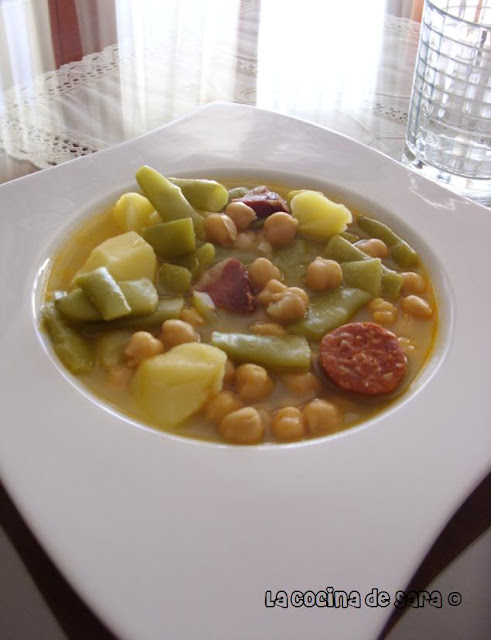 puchero de garbanzo