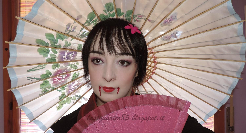 Make Up Halloween: geisha vampira!