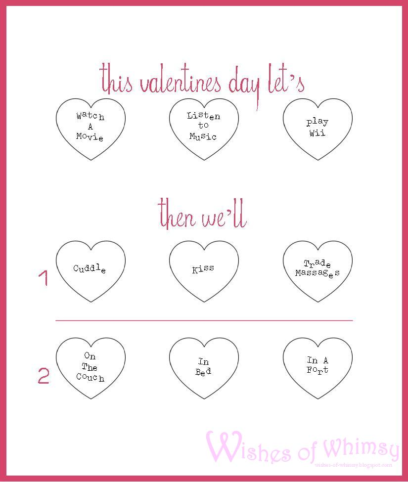 Wishes of Whimsy DIY Valentines Scratch Card – Valentine Cards Make Your Own