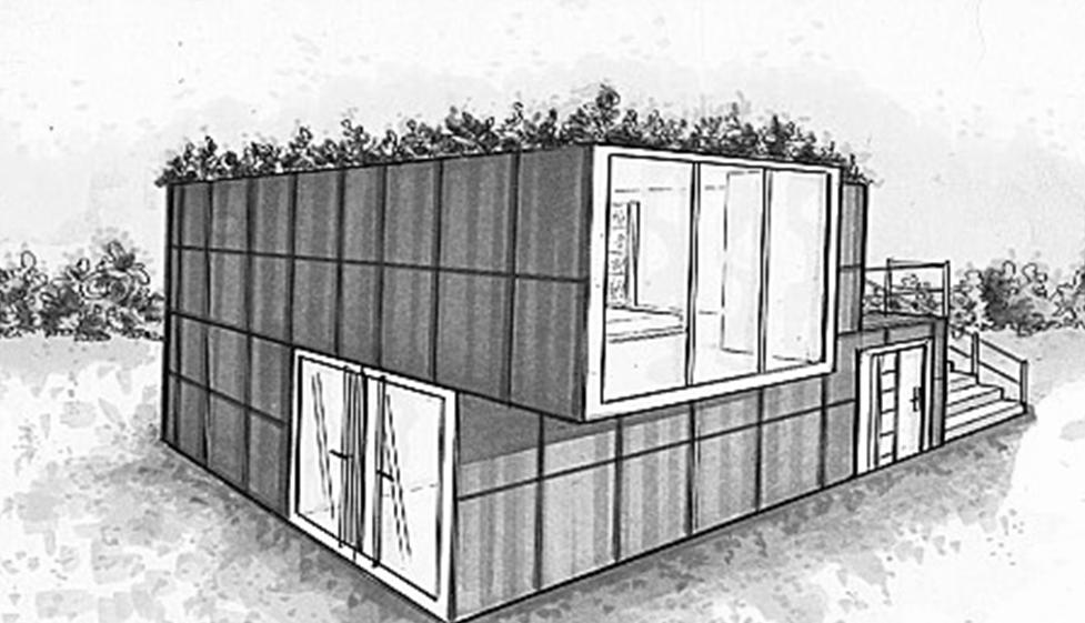 Conseils pour la construction de votre maison container for Maison container plan