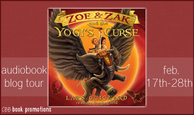 Zoe & Zak and the Yogi's Curse by Lars Guignard – Audiobook Review + Giveaway