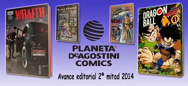 Planeta DeAgostini Cómics: Video-avance editorial de la 2ª mitad de 2014