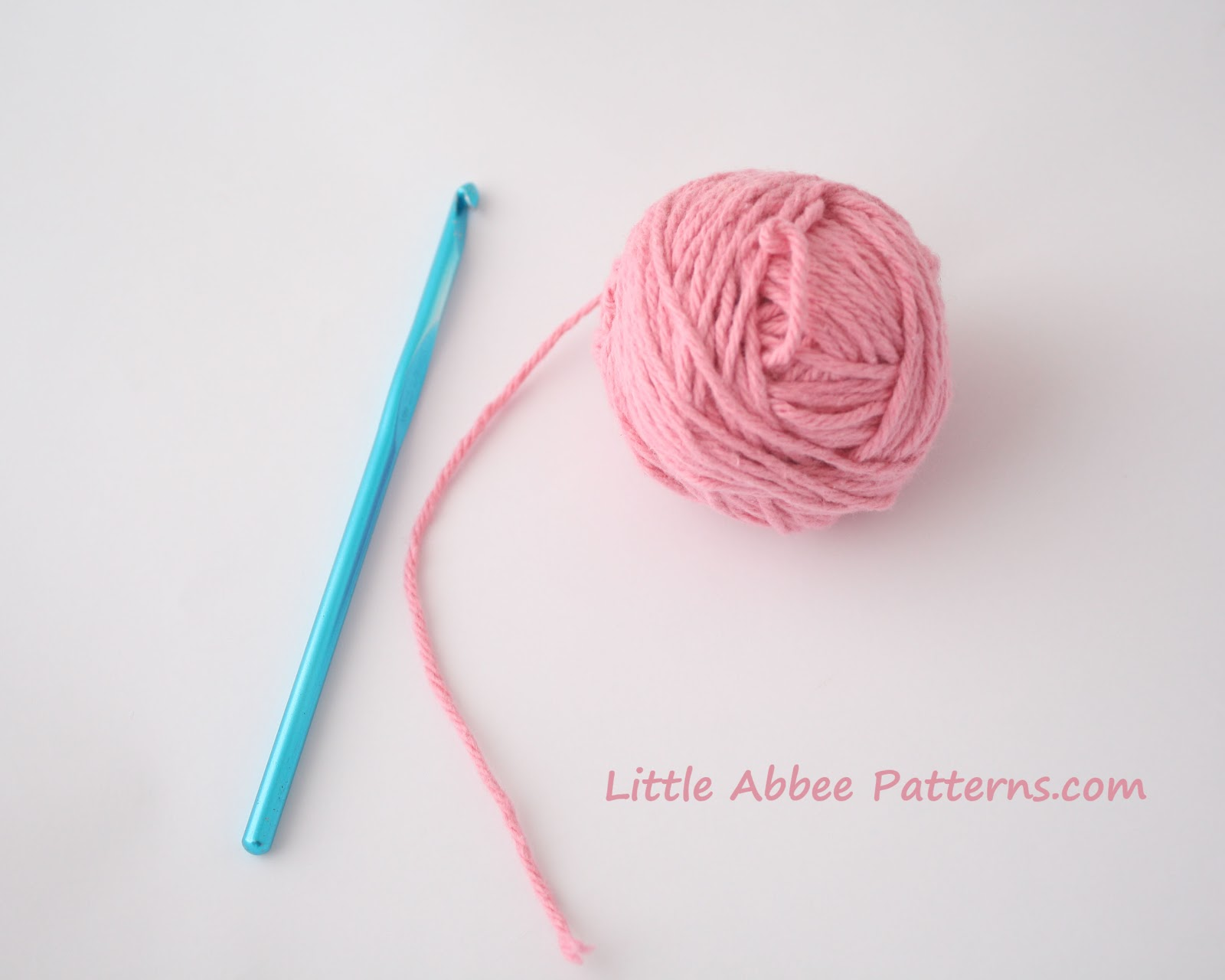 you start your crochet project you will either start with a slip knot ...
