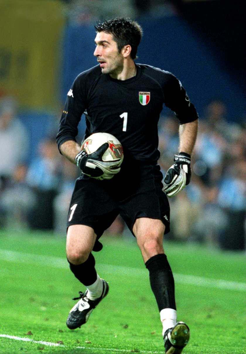Football: Gianluigi Buffon