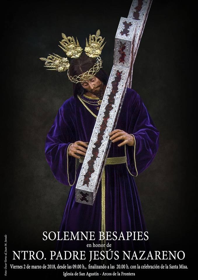 SOLEMNE BESAPIES NAZARENO DE ARCOS