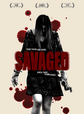 Savaged (2013) Watch Online Full Movie Free Download 250MB BRRip 480P Englis
