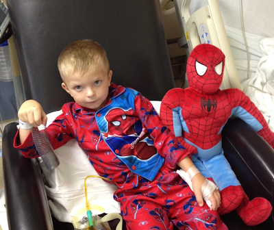 Connor and Spidey - 365 Days of Comics