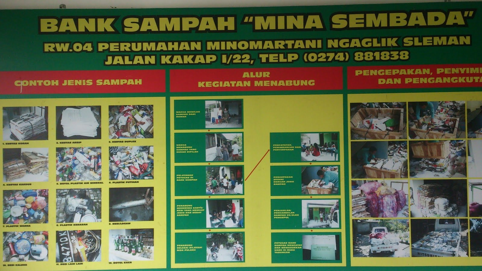 Bank Sampah MINA SEMBADA