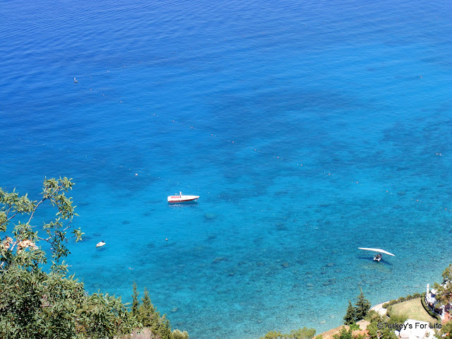Blue Seas At Ölüdeniz, Turkey