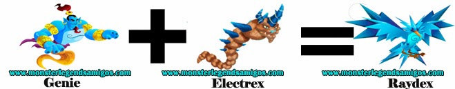 como obtener el monster raydex en monster legends formula 1