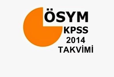 2014 Kpss Takvimi Açıklandı