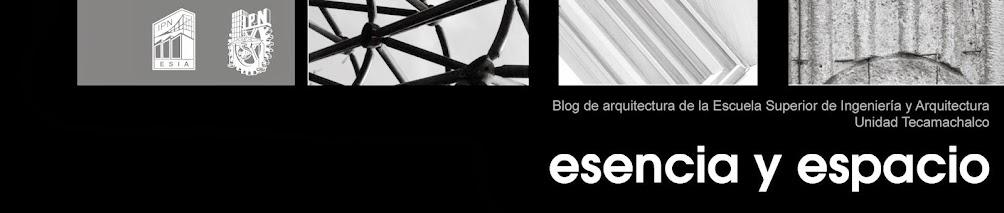 Revista esencia y espacio
