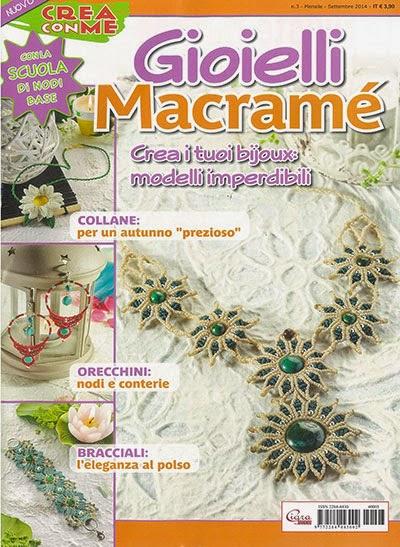 Crea con me:pubblicazioni Macramè
