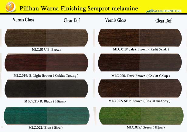 Warna Finishing Furniture Semprot Melamine 3