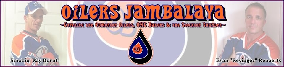 Oilers Jambalaya - Edmonton Oilers, OKC Barons &amp; Stockton Thunder