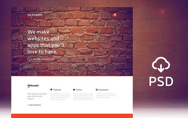 Free Website Navigation Bars and Menus PSD Files