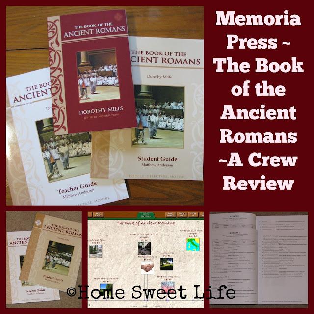 Memorial Press, Classical Education, Ancient Rome