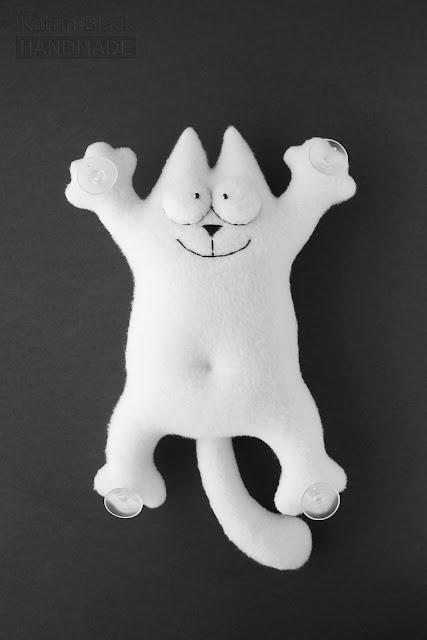Кот Саймона - игрушка на присосках в машину. Купить. Заказать.