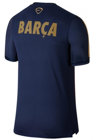 Barcelona FC Nike Youth Home Squad Performance Top - Blue