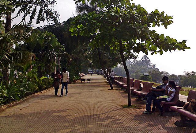 mumbai promenade