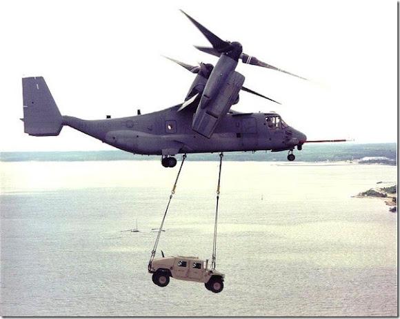 6 - Bell Boeing V-22 Osprey