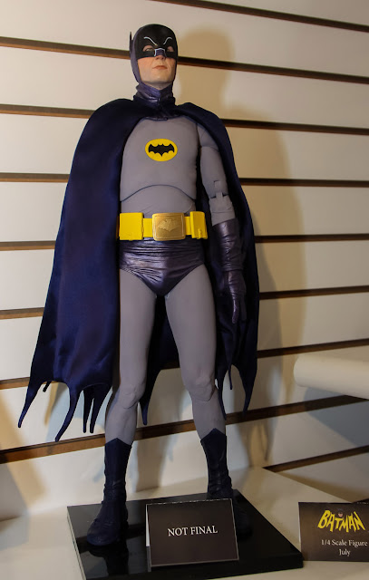 NECA 2013 Toy Fair Display Pictures - 1/4 Scale 1960's Adam West Batman figure