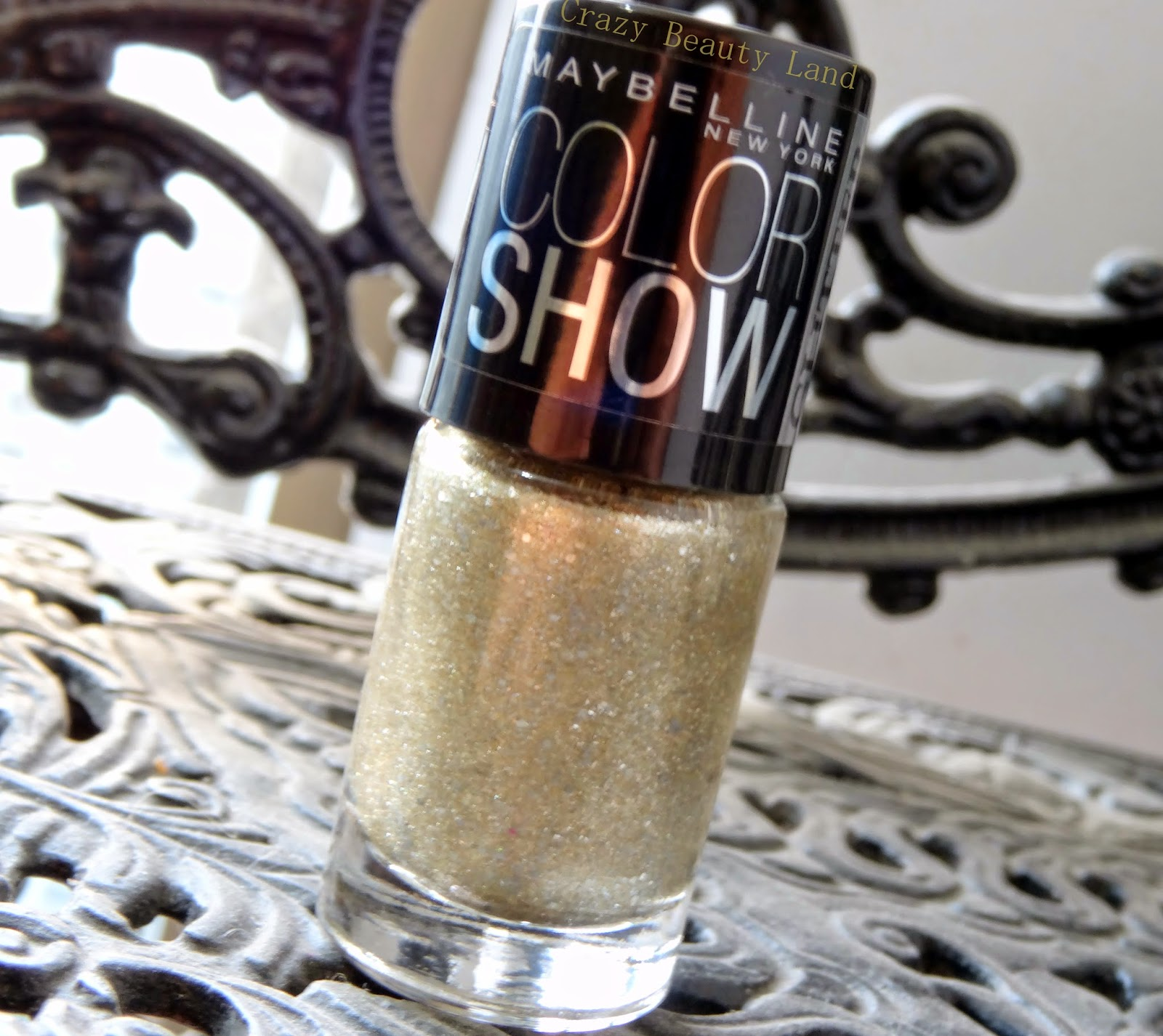 Maybelline Color Show Glitter Mania All That Glitters Review