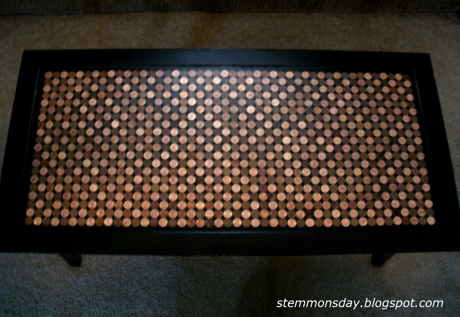 Stemmons Day Penny Coffee Table
