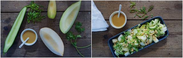 Vanløse blues.....: Sommersalat med melon og agurk & Butterbean BBQ bøffer