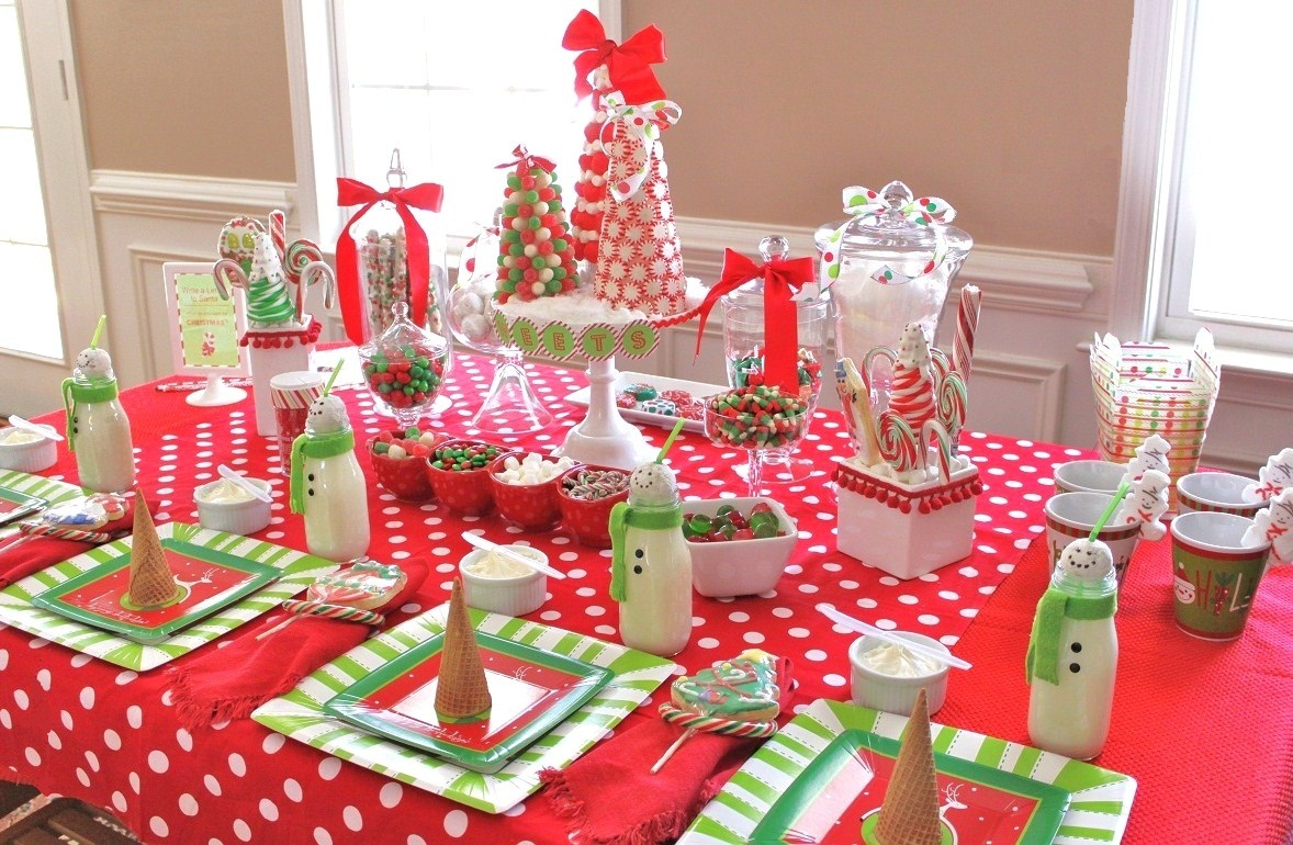 Kids Christmas Birthday Party Ideas