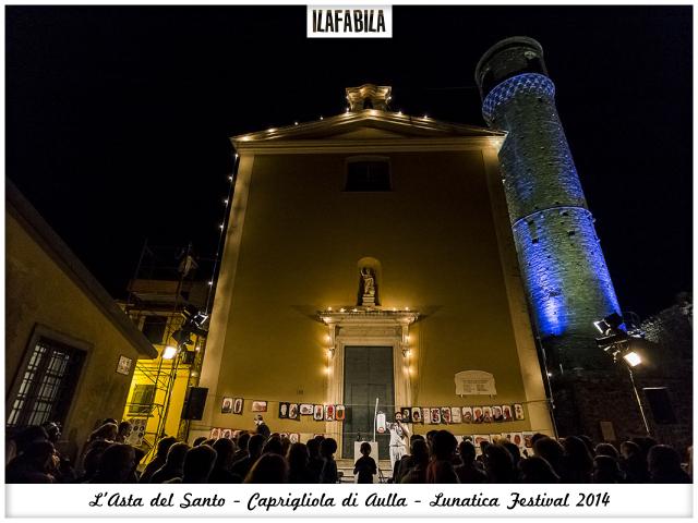 Quando il Santo va all'Asta: gli Omini e Caprigliola - Lunatica Festival 2014 - Chiesa di San Nicola