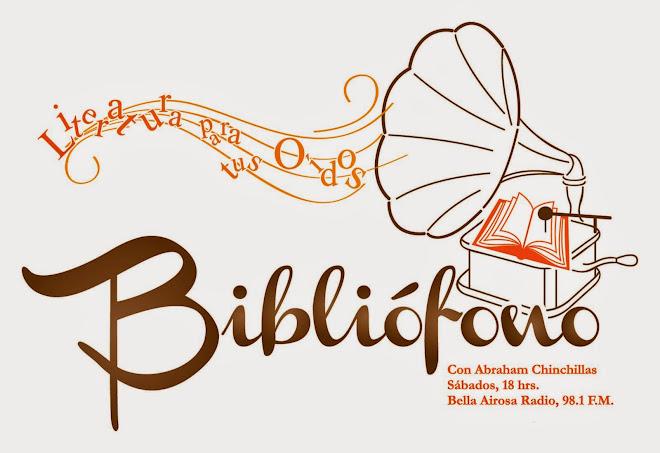 """Bibliófono"" Literatura para tus oídos"